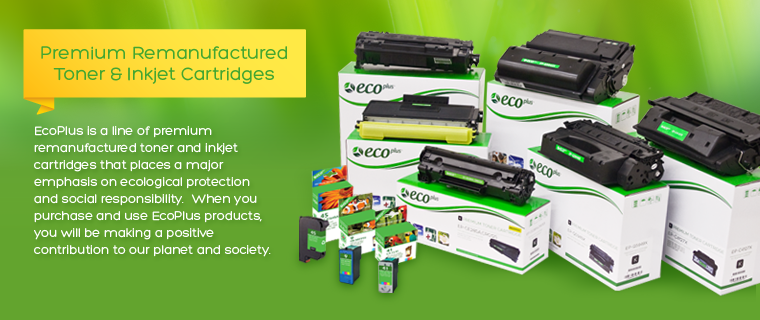 Premium Remanufactured Toner & Inkjet Cartridges